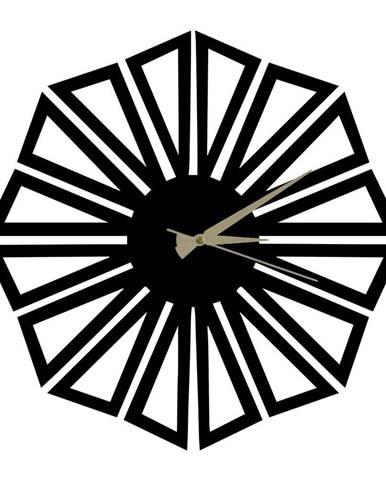 Kovové hodiny Dandelion, ø 50 cm