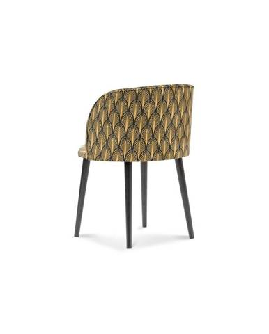 Jedálenská stolička so zamatovým poťahom Windsor & Co Sofas Aurora