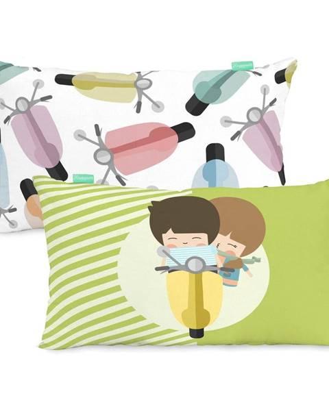 Happynois Obliečka na vankúš z čistej bavlny Happynois Summer Time, 50×30 cm