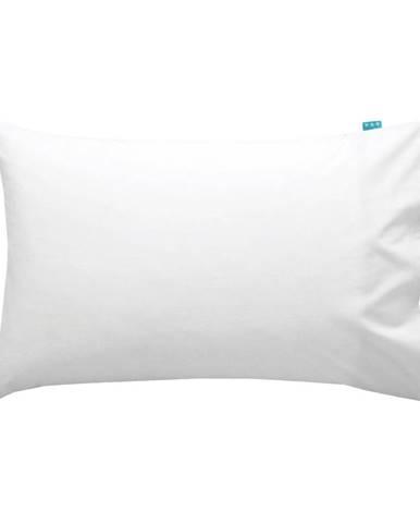 Biela obliečka na vankúš Happy Friday Basic, 50x30cm