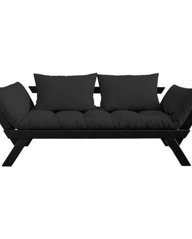 Variabilná pohovka Karup Design Bebop Black/Dark Grey