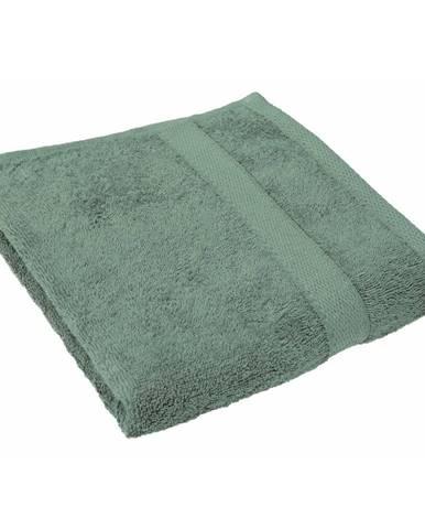 Zelený uterák Tiseco Home Studio, 50 × 100 cm