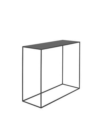 Čierny konzolový kovový stôl Custom Form Tensio, 100 x 35 cm