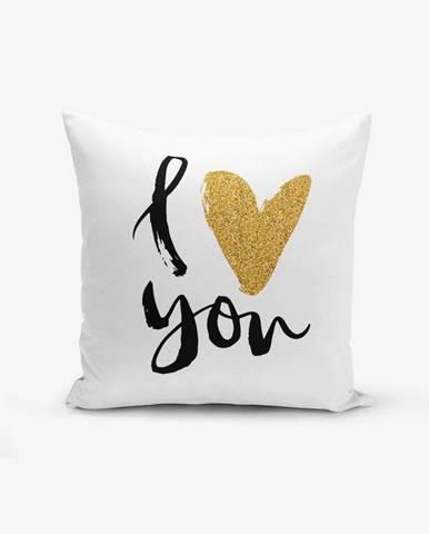 Obliečka na vankúš s prímesou bavlny Minimalist Cushion Covers, 45×45 cm