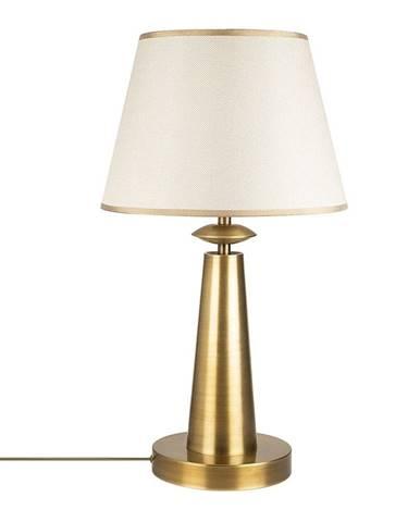 Kovová stolová lampa v zlatej farbe Opviq lights Samuel