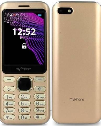 Mobilný telefón myPhone Maestro zlatý