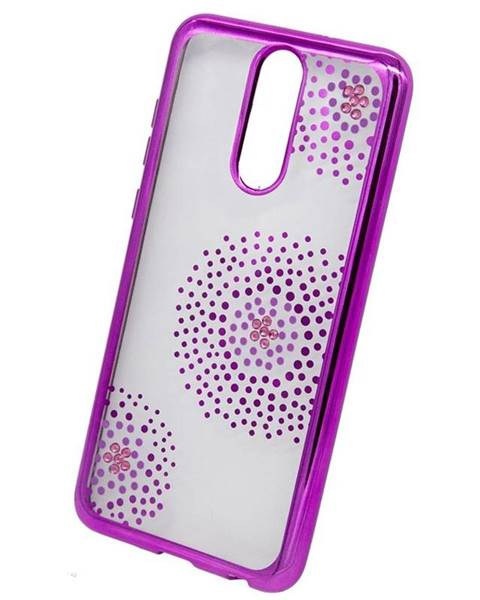 Beeyo Kryt na mobil Beeyo Flower Dots na Huawei Mate 10 Lite ružový