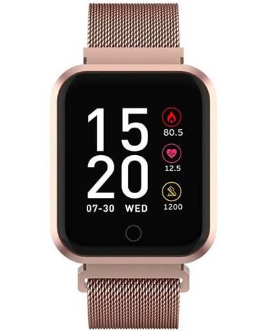 Inteligentné hodinky Forever ForeVigo SW-300 zlatá
