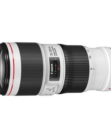 Objektív Canon EF 70-200 mm f/4.0L USM čierny/biely