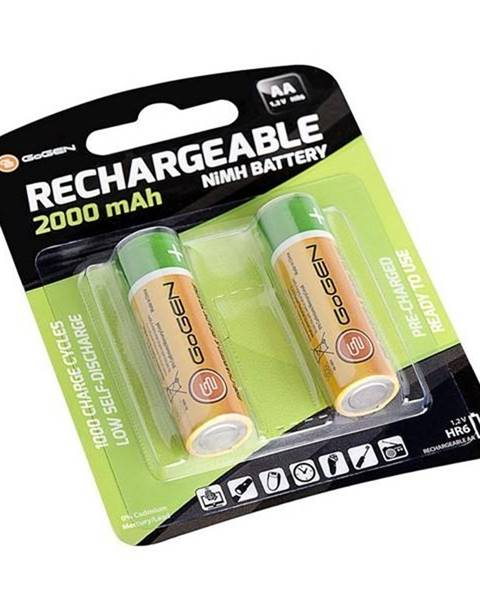 GoGEN Batéria nabíjacie Gogen AA, HR06, 2000mAh, Ni-MH, blistr 2ks