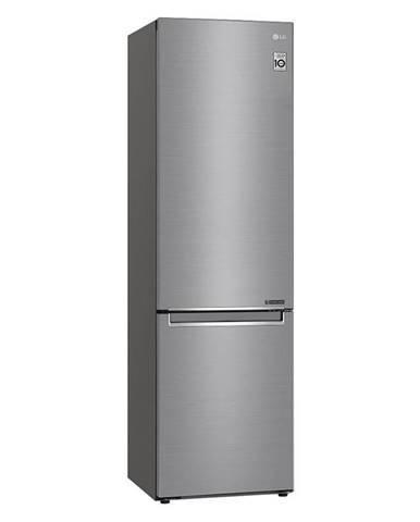 Kombinácia chladničky s mrazničkou LG Gbb72pzefn  strieborn