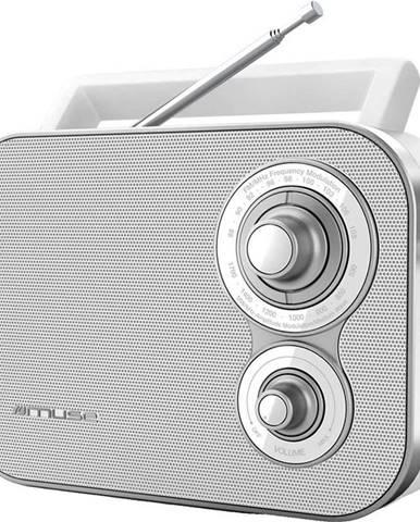 Rádioprijímač MM-051 RW biely
