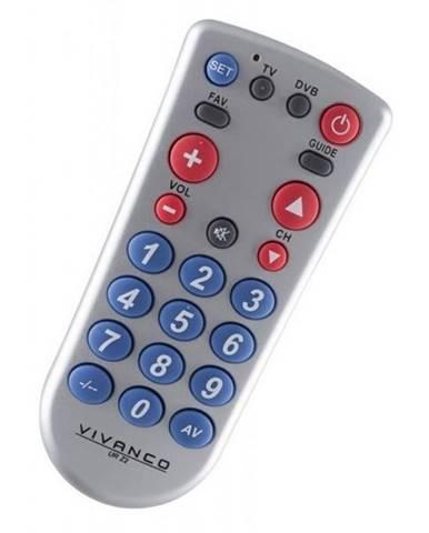 Diaľkový ovládač Vivanco UR Z2 2v1
