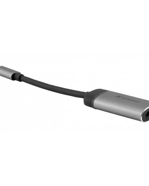Verbatim Redukcia Verbatim USB-C/Hdmi 4K sivá