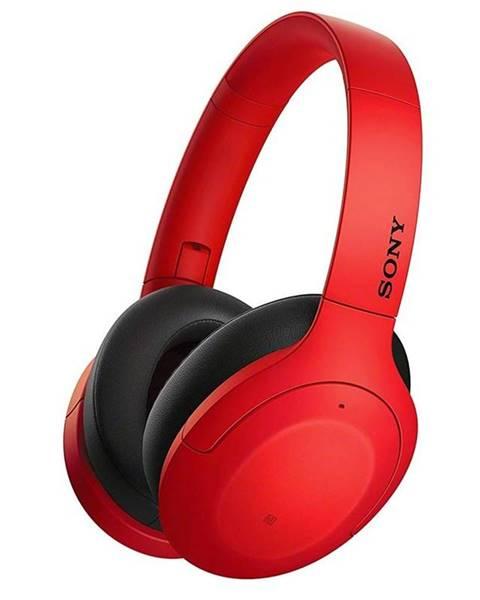 Sony Slúchadlá Sony WH-H910N červená