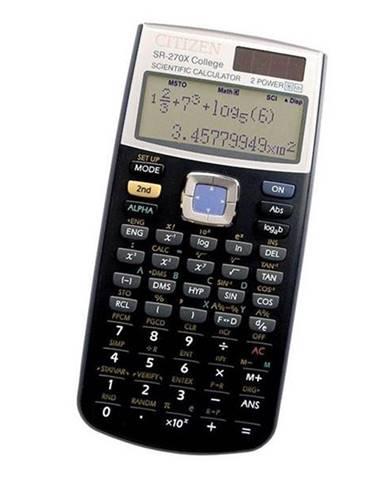 Kalkulačka Citizen SR-270X College čierna