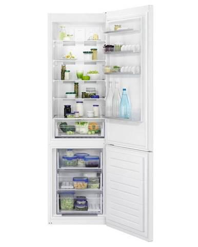 Kombinácia chladničky s mrazničkou Zanussi Znme36fw0 biela