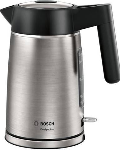 Rýchlovarná kanvica Bosch DesignLine Twk5p480 čierna/nerez
