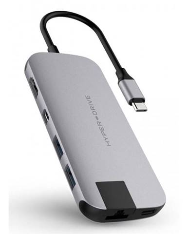 USB Hub HyperDrive Slim USB-C/Hdmi, 2x USB 3.1, Mini Display Port,