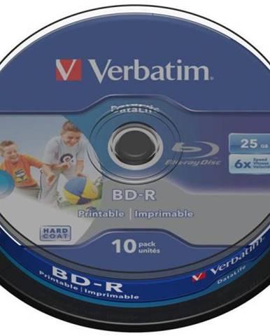 Disk Verbatim Printable BD-R SL 25GB, 6x, 10-cake