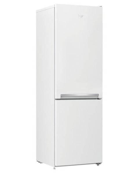 Beko Kombinácia chladničky s mrazničkou Beko Csa270m31wn biela