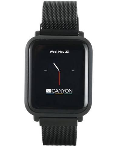 Inteligentné hodinky Canyon Sanchal čierny