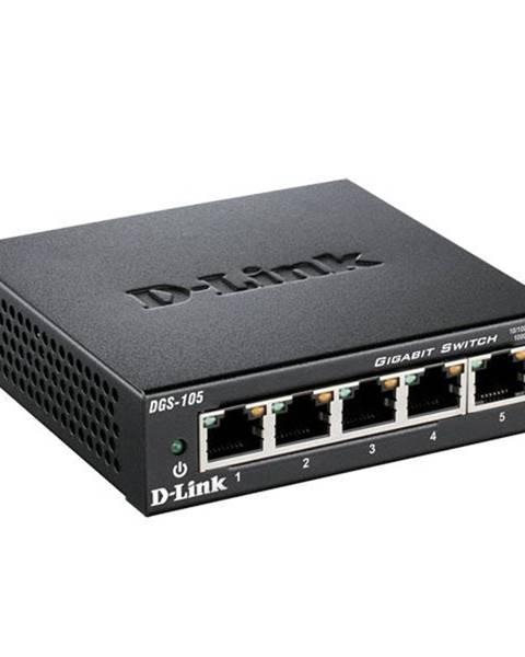 D-Link Switch D-Link DGS-105  5 port, Gigabit