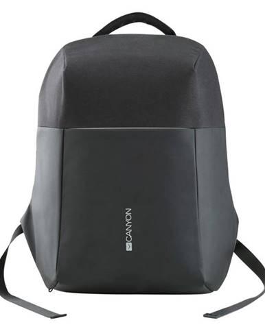 "Batoh na notebook  Canyon Anti-theft pro 15.6"", integrované USB"