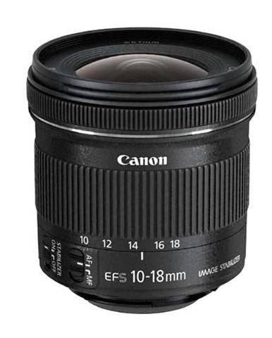 Objektív Canon EF-S 10-18 mm f/4.5-5.6 IS STM + EW73C + LC kit