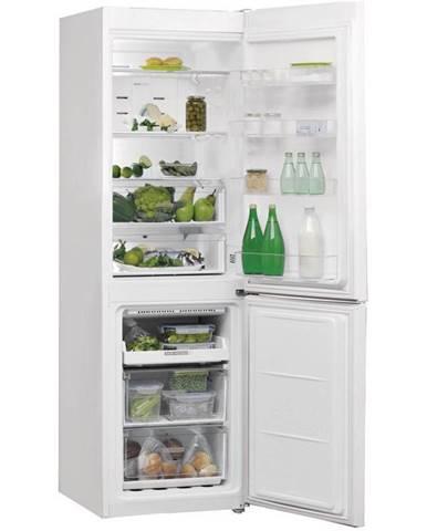 Kombinácia chladničky s mrazničkou Whirlpool W7 821O W biela