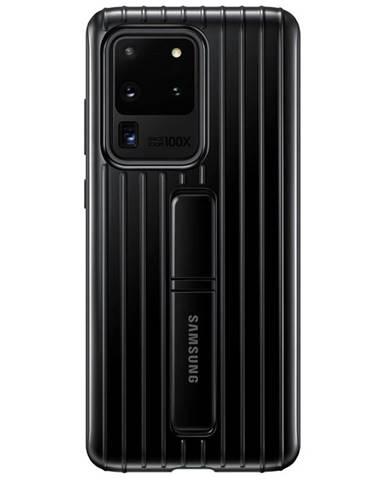 Kryt na mobil Samsung Standing Cover na Galaxy S20 Ultra čierny
