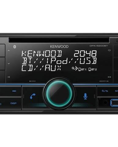 Autorádio s CD Kenwood DPX-5200BT čierne