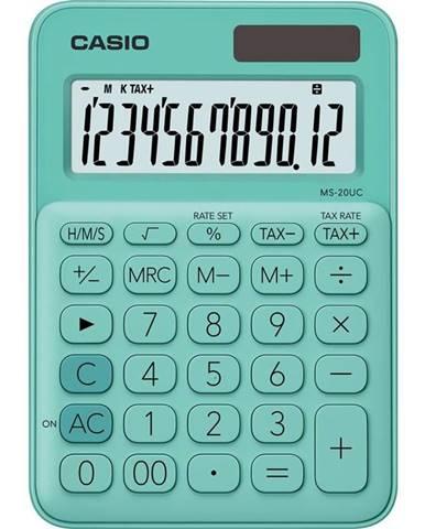 Kalkulačka Casio MS 20 UC GN zelen
