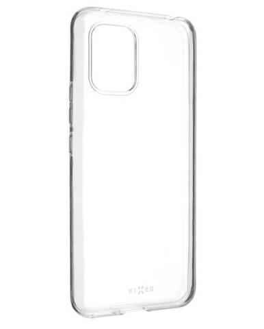 Kryt na mobil Fixed na Xiaomi Mi10 Lite priehľadný