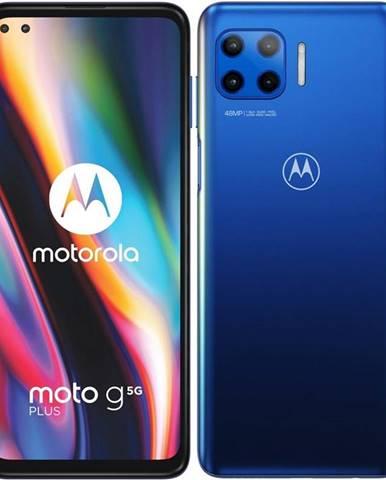 Mobilný telefón Motorola Moto G 5G Plus modrý