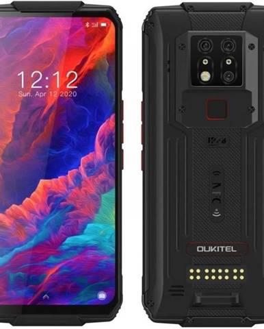 Mobilný telefón Oukitel WP7 čierny/červený