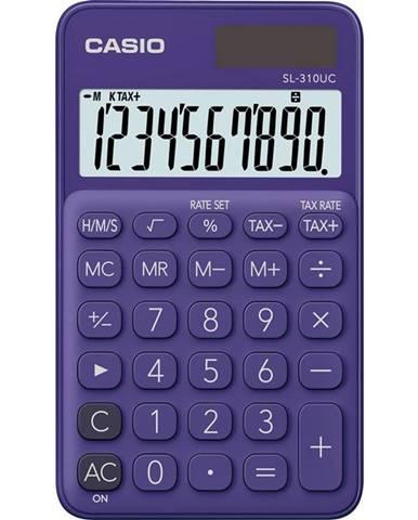 Kalkulačka Casio SL 310 UC PL fialov