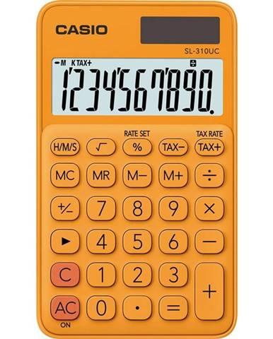 Kalkulačka Casio SL 310 UC RG oranžov
