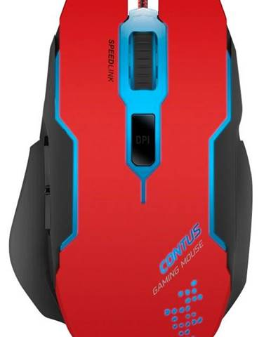 Myš  Speed Link Contus Gaming červená
