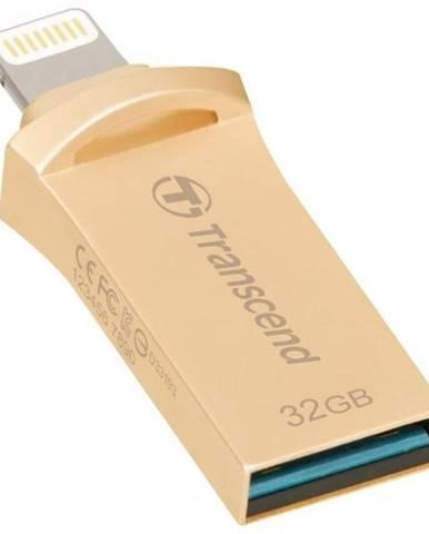 USB flash disk Transcend JetDrive Go 500 32GB zlatý