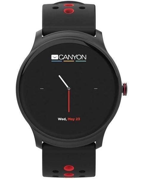 Canyon Inteligentné hodinky Canyon Oregano čierny/červený