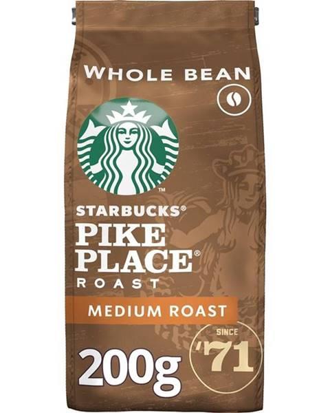 Starbucks Káva zrnková Starbucks Medium Pike Place Roast 200g