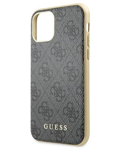 Kryt na mobil Guess 4G na Apple iPhone 11 Pro Max sivý