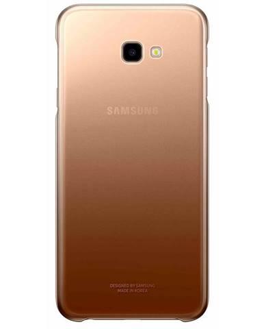 Kryt na mobil Samsung Gradation cover na J4+ zlatý