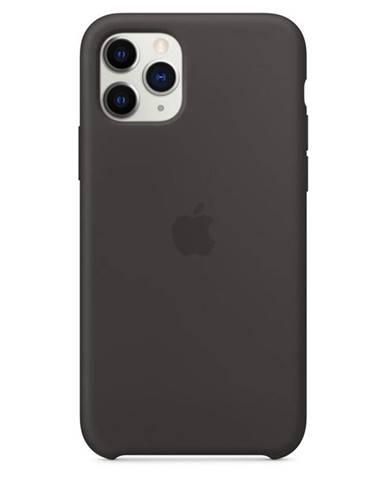Kryt na mobil Apple Silicone Case pre iPhone 11 Pro čierny