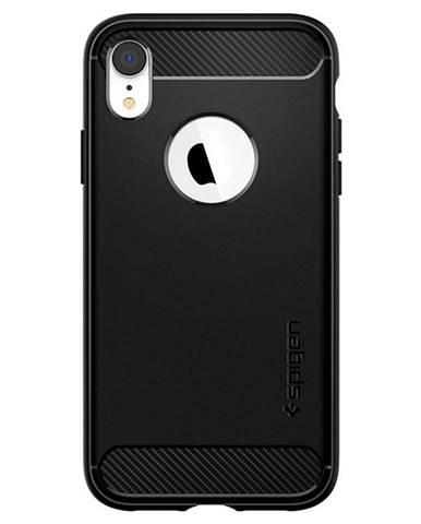 Kryt na mobil Spigen Rugged Armor na Apple iPhone XR čierny