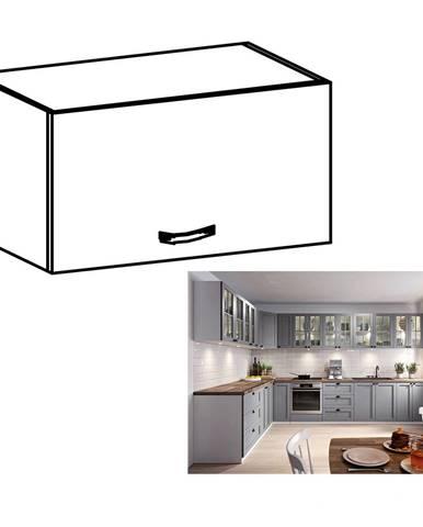 Horná skrinka biela/sivá matná LAYLA G50K