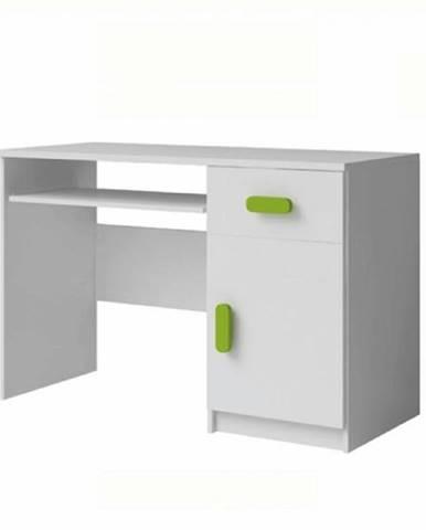 PC stôl bez úchytiek biela SVEND TYP 8