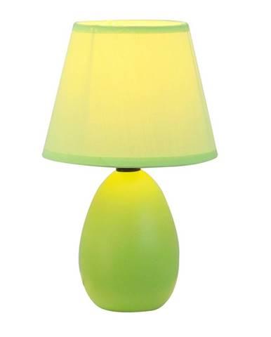 Keramická stolná lampa zelená  QENNY TYP 13 AT09350