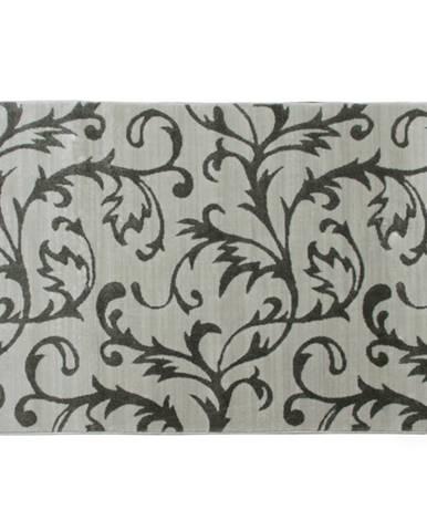 Koberec krémová/sivý vzor 100x150 GABBY